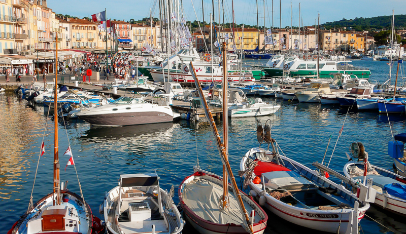 Le port de SAINT TROPEZ
